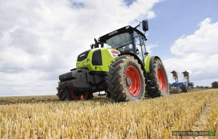 В Украине появится новый Claas Arion