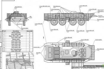 Обнародованы чертежи защиты для бронетехники