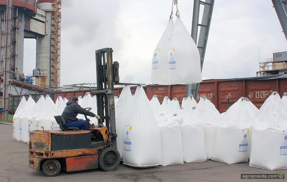 Черкасский «Азот» увеличил объемы производства минудобрений