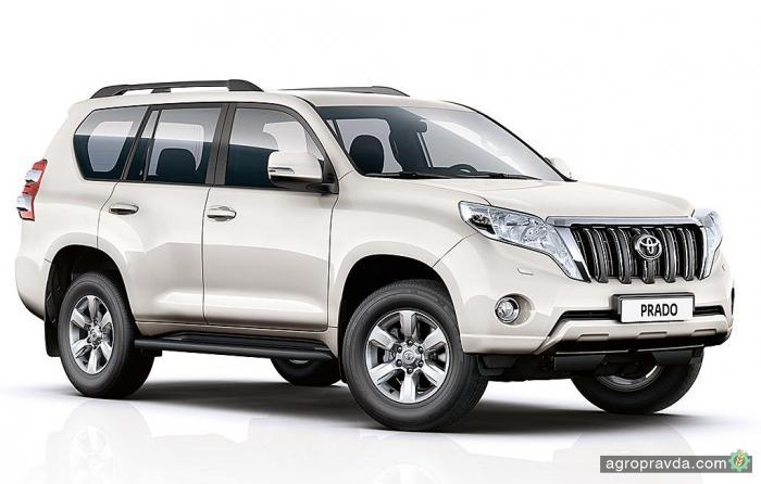 Toyota LC Prado в новой комплектации Elegance уже в Украине