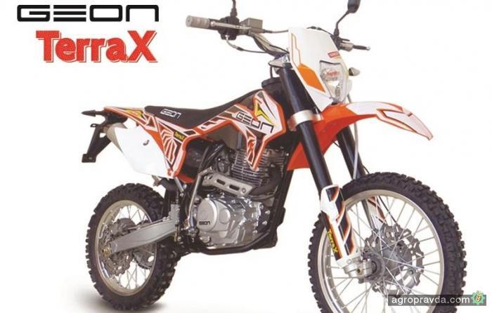 В Украине появился новый кросс-эндуро Geon TerraX