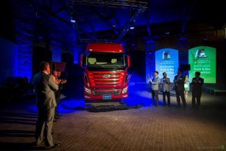 Грузовик Hyundai Xcient будет презентован в Украине до конца 2013 года