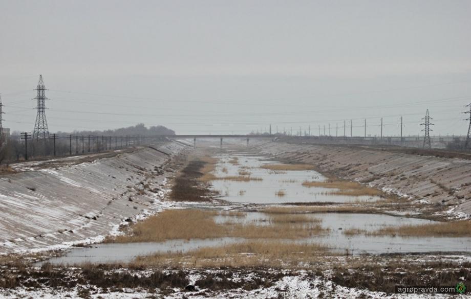 Північно-Кримський канал переходить у підпорядкування Мінагрополітики