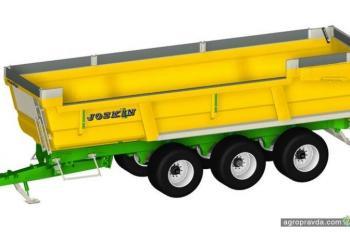 Joskin представил новый самосвальный прицеп для перевозки картофеля