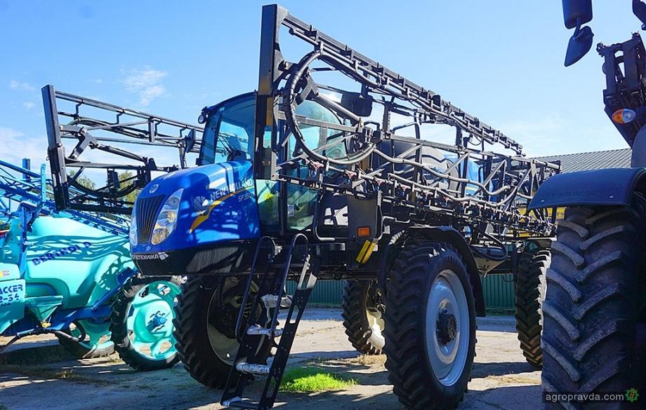 В Украине появятся новые опрыскиватели New Holland для малых фермеров