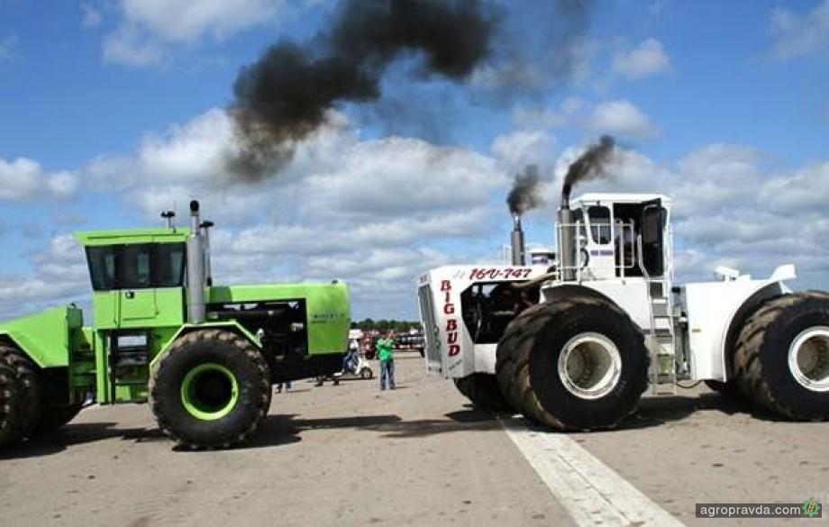 Самые большие и мощные тракторы. Видео