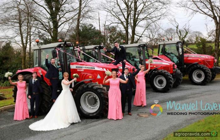 Как аграрии отметили день Святого Валентина. Фото