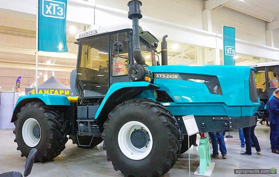 ХТЗ представил обновленную модель 250-сильного трактора