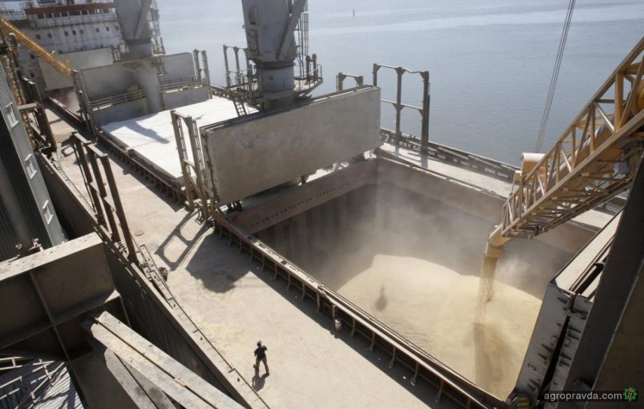 Рекордный экспорт зерновых помог укрепиться гривне
