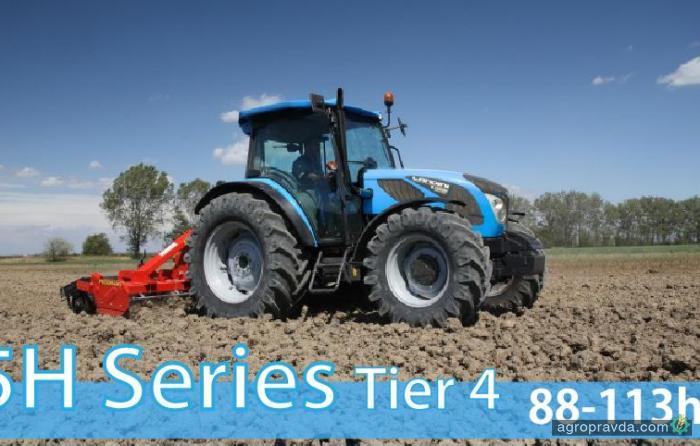 Landini обновил 5-ю серию тракторов