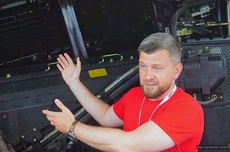 В Украине представили флагманские комбайны Case IH нового поколения