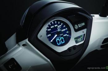 В Украине появился новый скутер SYM Symphony