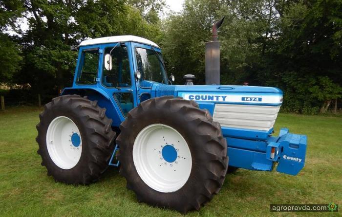 Раритетный трактор продали за рекордную цену