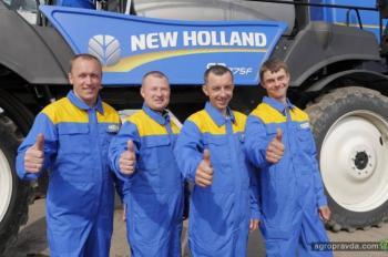Состоялась крупнейшая сделка по опрыскивателям New Holland в Украине