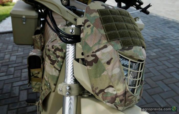 В РФ разработали новый военный мотоцикл