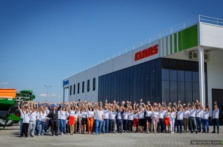 В Украине открыли новый сервисный центр CLAAS. Фото