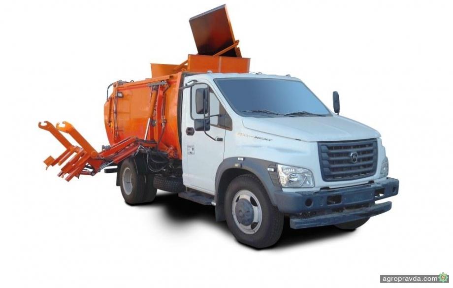 В Украине освоили выпуск нового мусоровоза