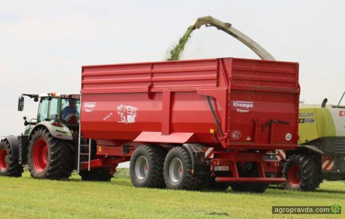 Выпущены новые сельхозсамосвалы Krampe Big Body 790