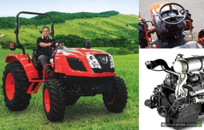 Kioti представляет новые компактные модели тракторов