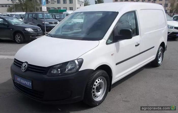 В Украине стартовали сетевые продажи б/у Volkwagen Caddy из Европы