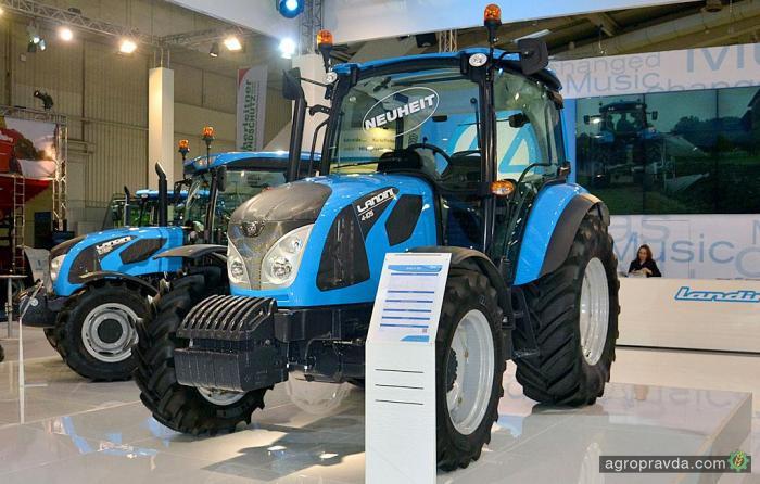 В Украине планируют собирать тракторы Landini