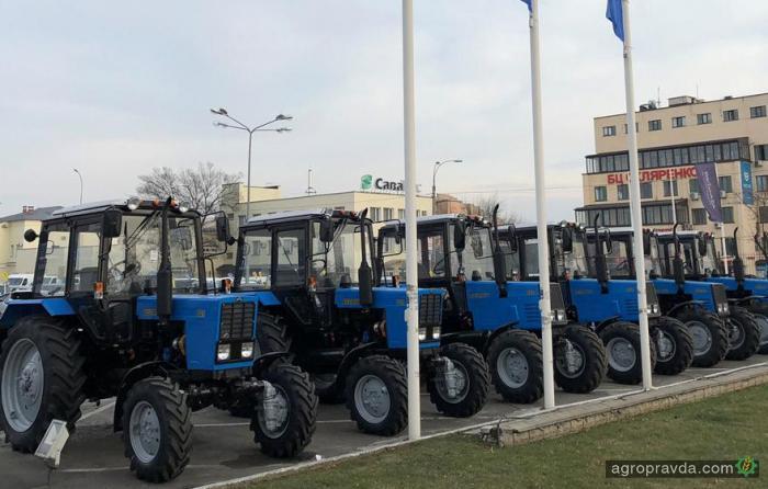 Продажи тракторов BELARUS начались еще в 18 центрах по Украине