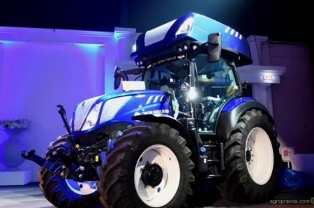 Начались продажи водородных тракторов New Holland