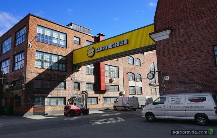 На рынок Украины выходит новый дилер комбайнов Sampo Rosenlew