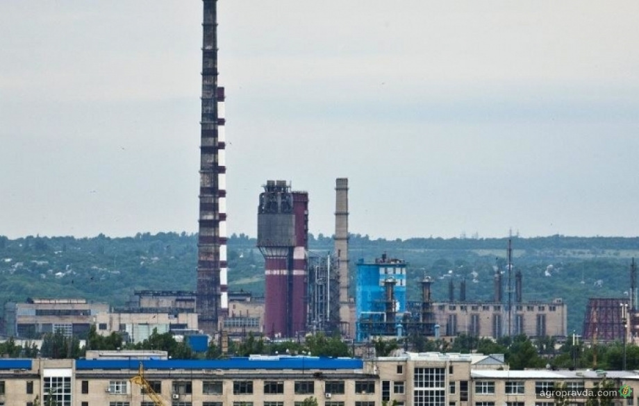Северодонецкий «Азот» возобновил производство