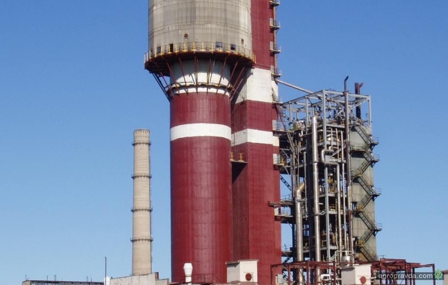 Северодонецкий «Азот» возобновновляет производство аммиака и карбамида