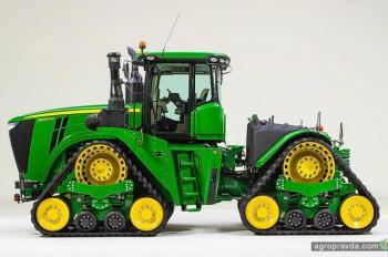John Deere представил свой первый 4-гусеничный трактор