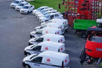 АМАКО будет обслуживать агротехнику на автомобилях Renault