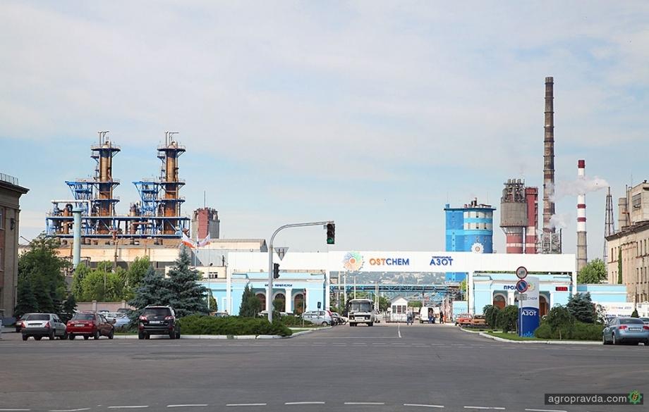 Северодонецкий «Азот» готовится увеличить выпуск азотных удобрений
