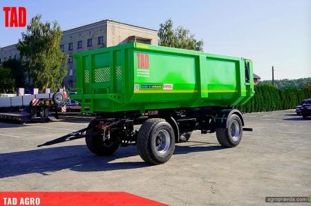 В Украине представили новый компактный сельхозсамосвал