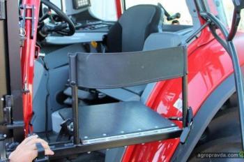 Разработан трактор для людей с ограниченными возможностями