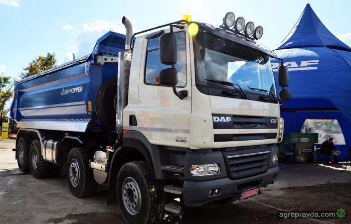 DAF Trucks подготовил универсальные решения для аграриев
