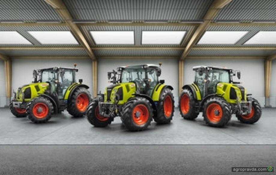 Claas представил новое поколение тракторов Arion 400