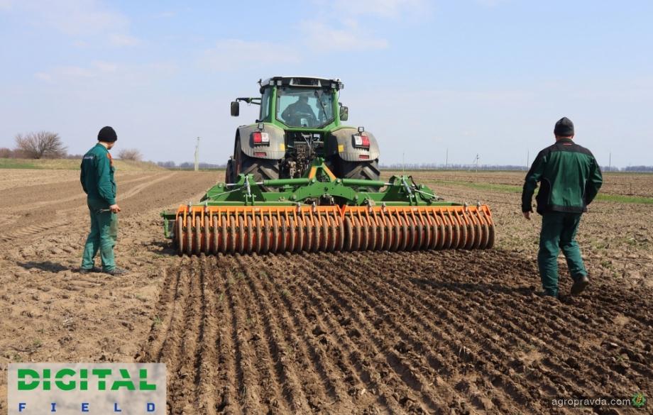 На полигоне аграрных инноваций Digital Field  стартовала посевная