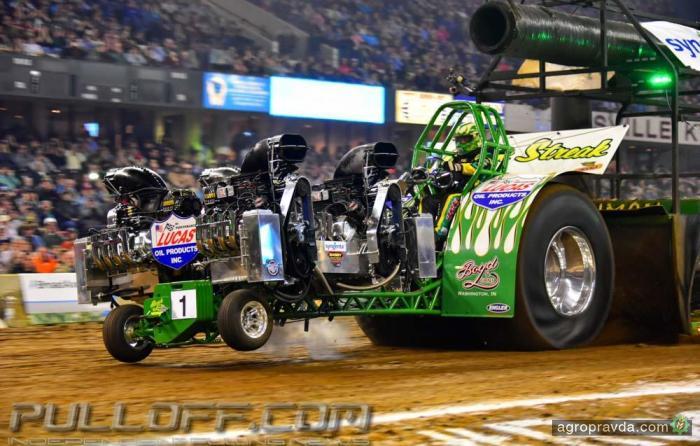 Тракторные гонки. Видео