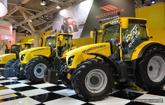 McCormick представит первый трактор с коробкой CVT