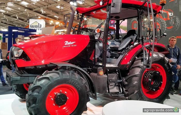 Zetor представил серийную версию трактора от Pininfarina