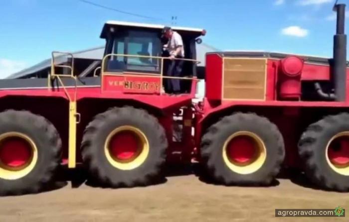 Супер-трактора в работе. Видео