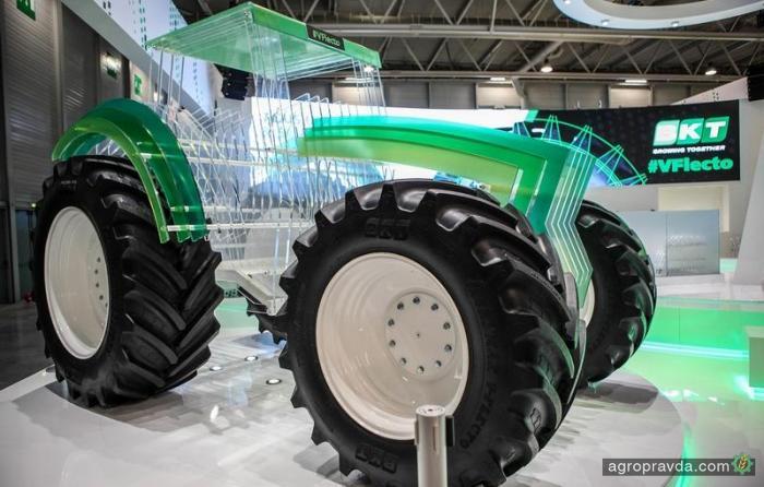 BKT представила аграрную шину нового поколения