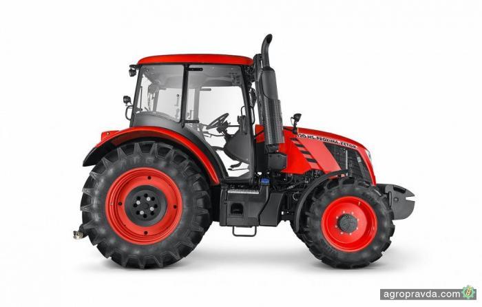 Новый трактор Zetor Proxima CL в работе. Видео