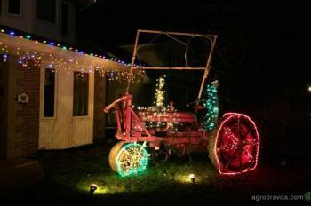 Новогодние тракторы