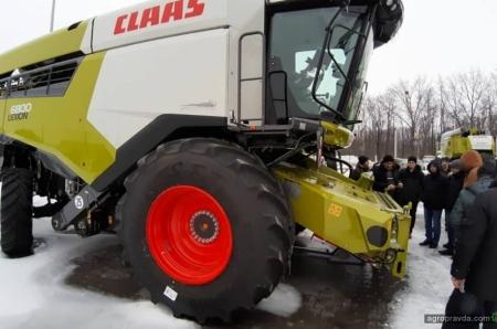Claas в Украине провел тренинги по современной сельхозтехнике. Фото