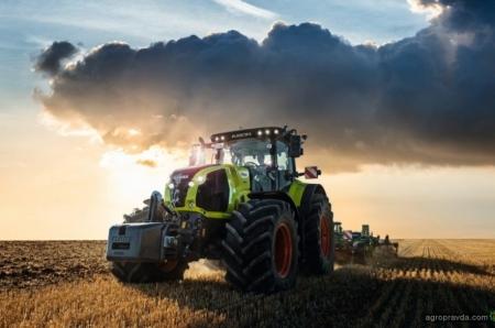 На тракторах Claas появится система регулирования давления в шинах