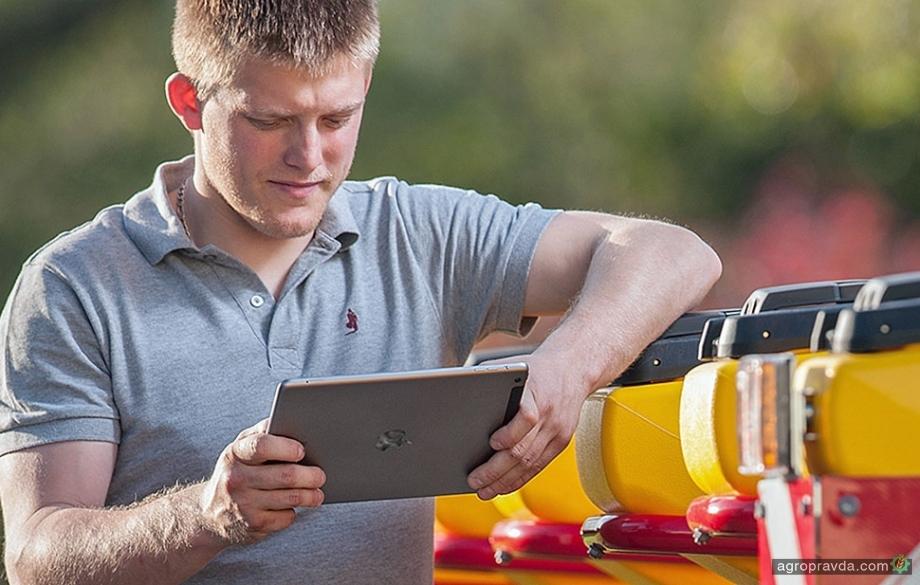 Väderstad представляет новый информационный портал в приложении E-Control