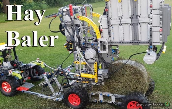 Сельхозтехника из Лего. Видео