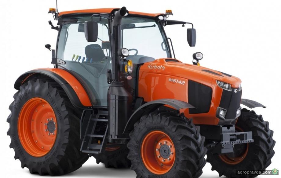 Kubota представила новую серию тракторов M6002